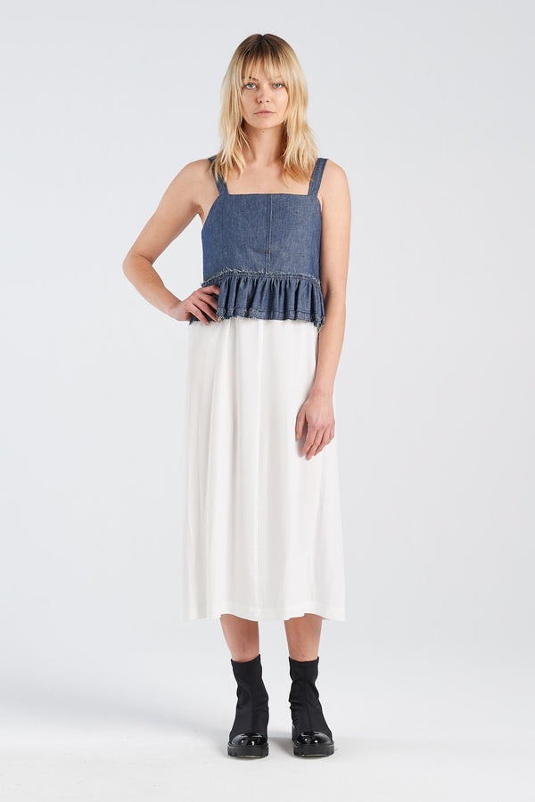 NERO VEST | DENIM - NYNE - NZ Made Women's Clothing