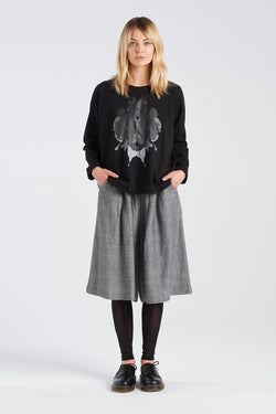 PERCEPTION JERSEY | BLACK - NYNE - NZ Made Women's Clothing