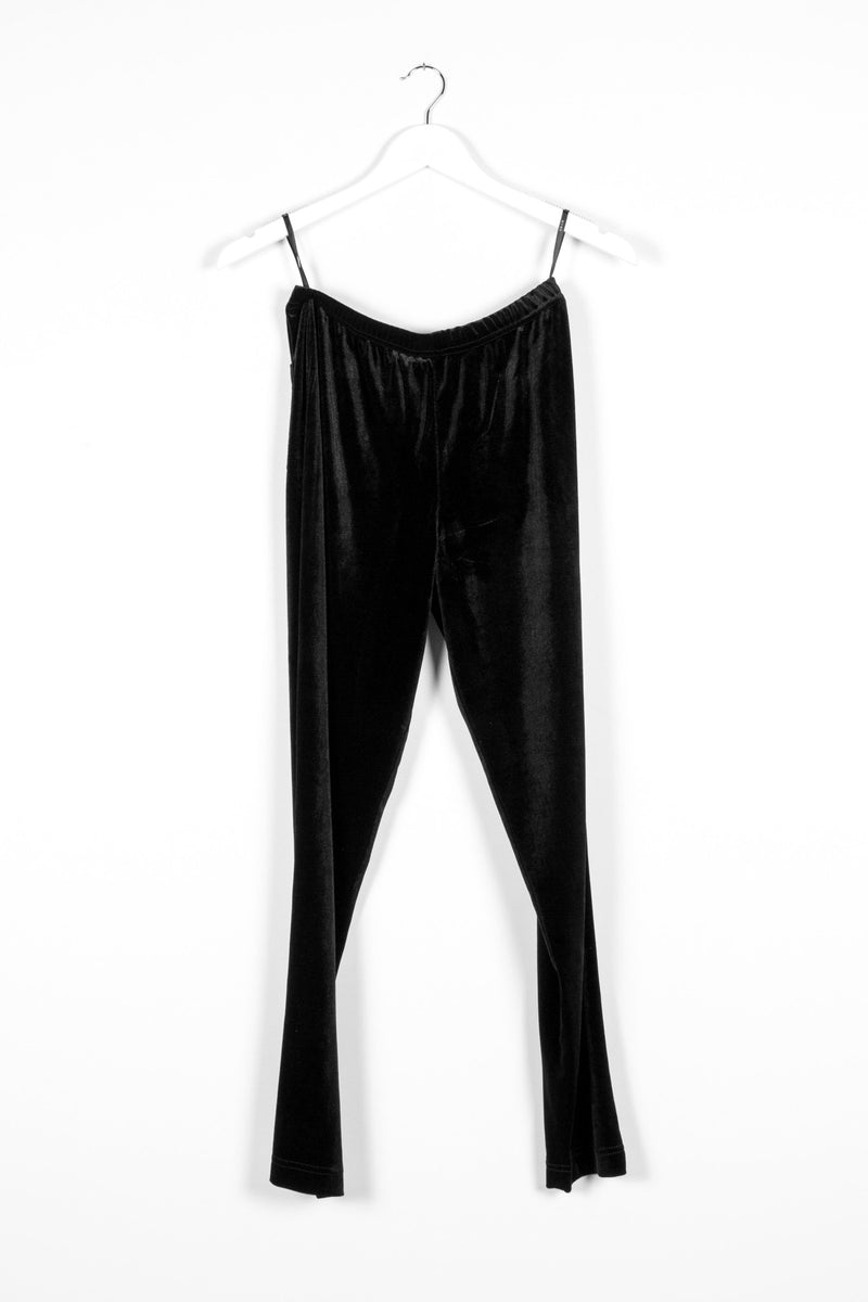 PHEONIX PANT | BLACK VELVET - NYNE - NZ Made Women's Clothing