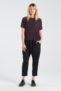 PSUEDO TOP | BLACKBERRY - NYNE - NZ Made Women's Clothing