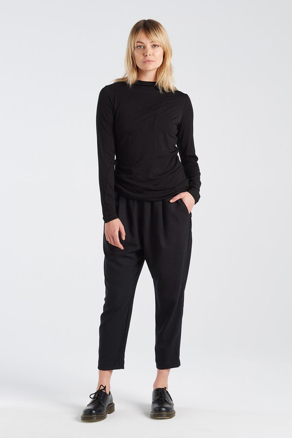 REPLICATE TOP | BLACK - NYNE - NZ Made Women's Clothing