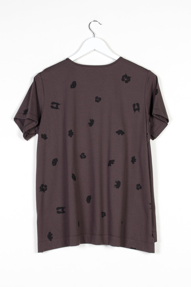 SPOT T-SHIRT | BARK KNIT