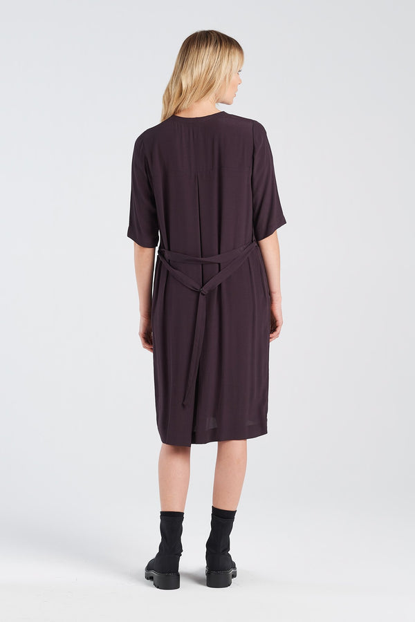 THERAPY DRESS | BLACKBERRY - NYNE - NZ Made Women's Clothing