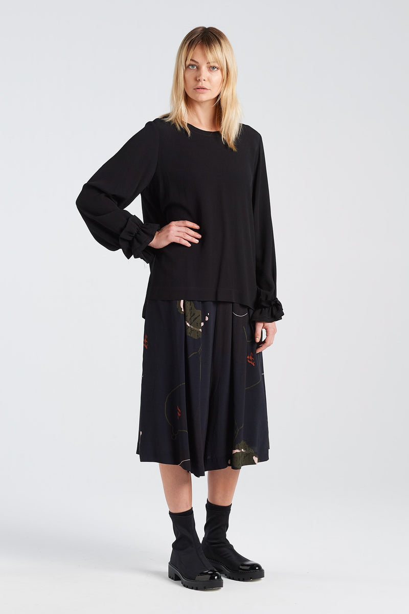 WADIN TOP | BLACK - NYNE - NZ Made Women's Clothing