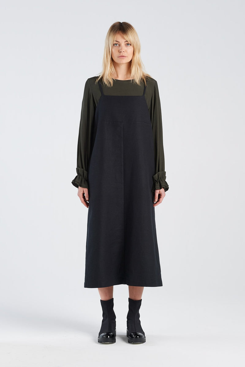WADIN TOP | MOSS - NYNE - NZ Made Women's Clothing