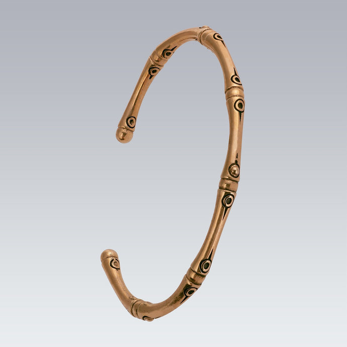 GOLD PLATED BAMBOO BANGLE