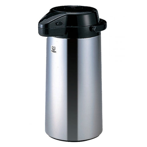Tiger PXQ-2501 Air Pump Jug/Dispenser with Mirror Finish, 2.5L
