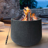 Image of Grillz Outdoor Portable Fire Pit Bowl Wood Burning Patio Oven Heater Fireplace