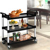 Image of Emajin Service Cart Trolley Restaurant Kitchen Serving Catering Large Shelf