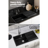 Image of Cefito Kitchen Sink Granite Stone Laudry Single Bowl Top or Undermount 1000x500mm