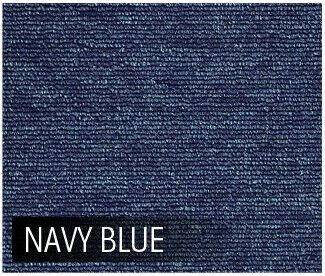 5m2 Box of Premium Carpet Tiles Commercial Domestic Office Heavy Use Flooring Blue
