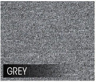 5m2 Box of Premium Carpet Tiles Commercial Domestic Office Heavy Use Flooring Grey