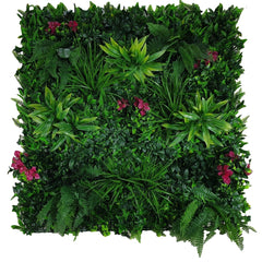 Flowering Lilac Vertical Garden / Green Wall UV Resistant 100cm x 100cm Panel