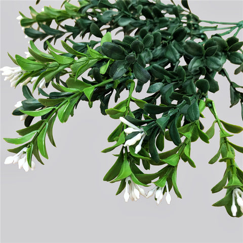 Artificial Flowering Boxwood Stem 30cm