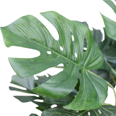 Artificial Potted Split Philodendron (Monstera) 40 cm