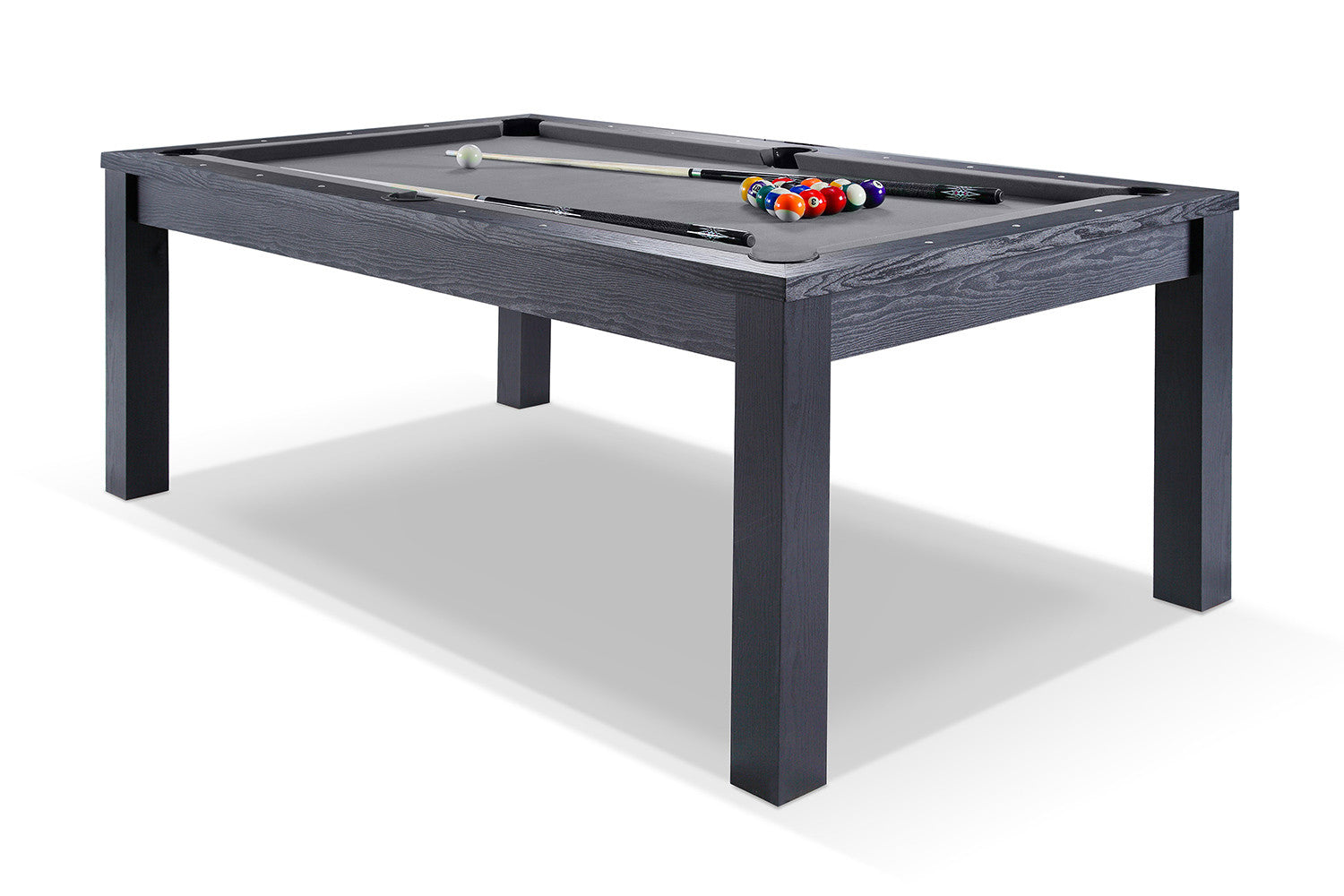 Billard transformable en table manger noir billards for Billard salle a manger