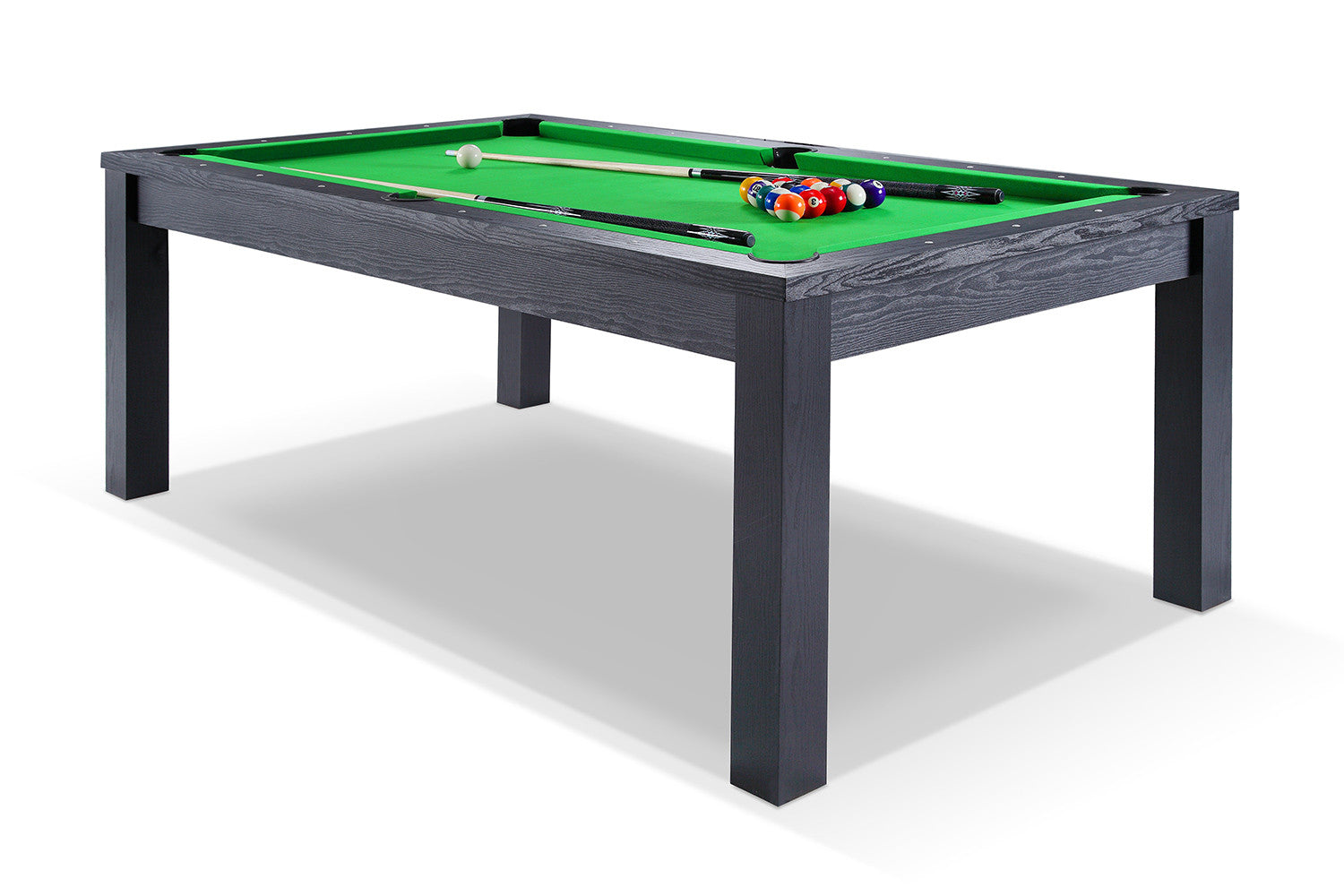 Billard transformable en table manger noir billards defaistre - Table de billard transformable ...