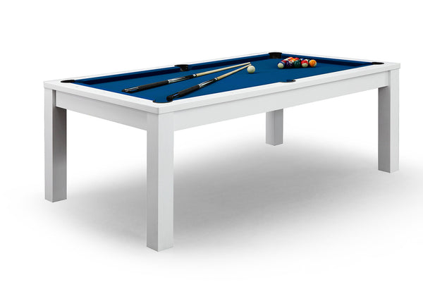 Billard convertible en table manger blanche billards defaistre - Table billard convertible table a manger ...