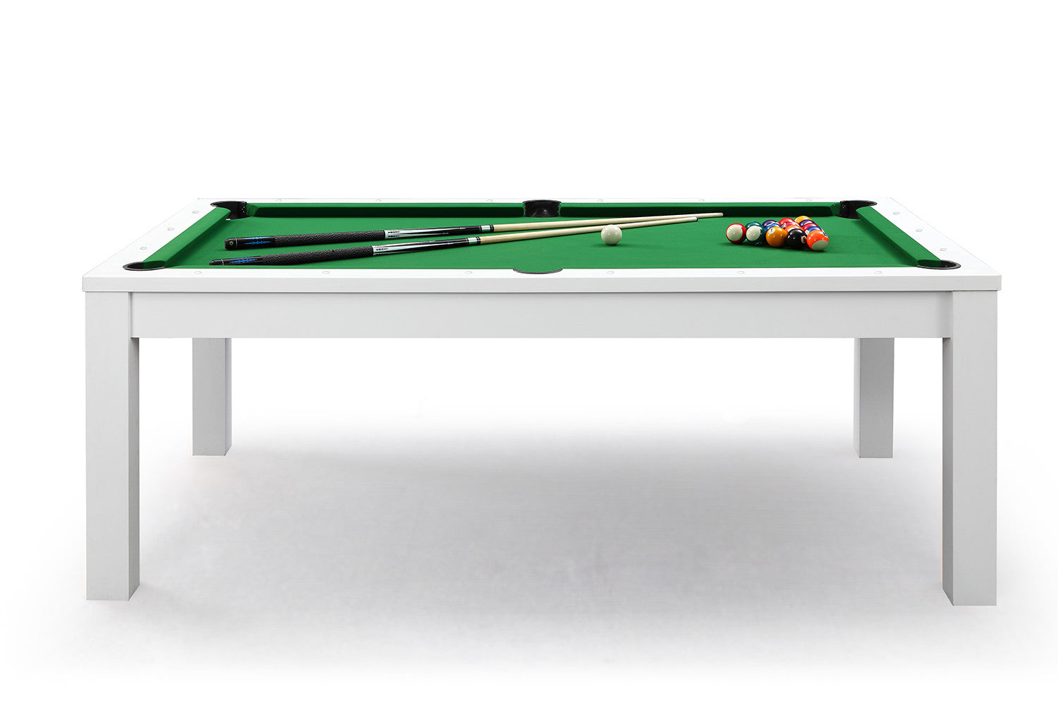 billard convertible en table manger blanche billards defaistre. Black Bedroom Furniture Sets. Home Design Ideas