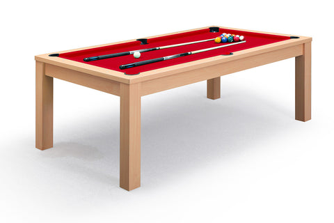 Billard convertible en table manger noyer billards for Table a manger billard