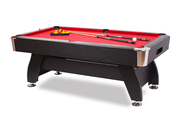 Billard Anglais 8 Pool Defaistre Club Pro Tapis rouge