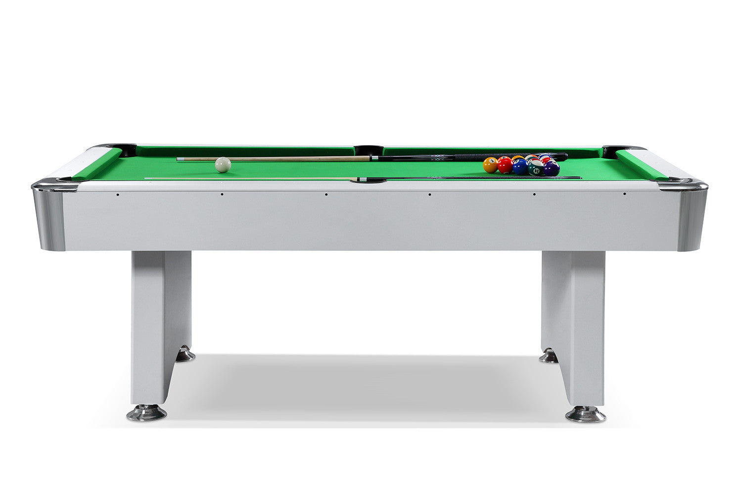 Billard f d ration blanc billards defaistre - Dimension table de billard ...