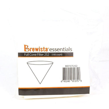 Brewista Essentials V Cone Paper Filters (100)-Brewista-Coffee Hit