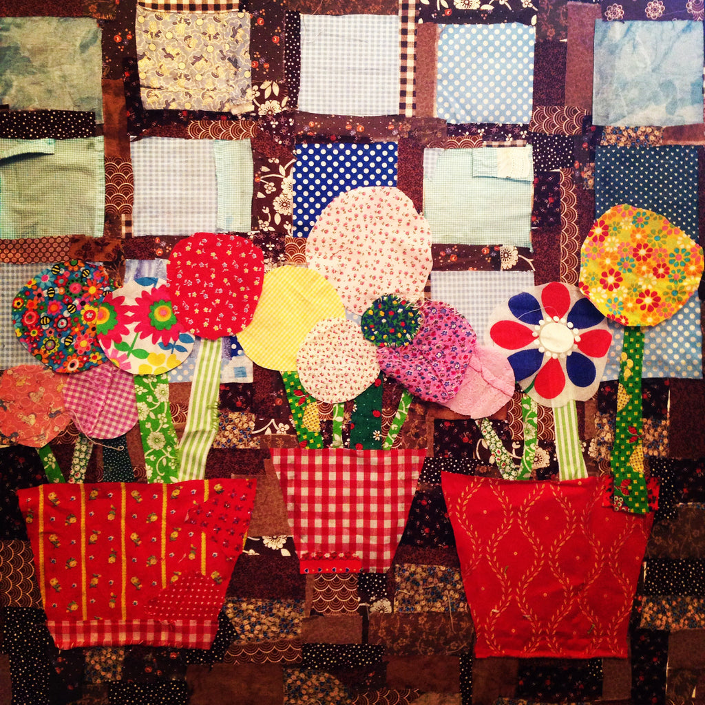 Patchwork Window Box
