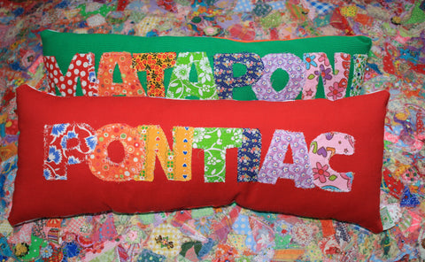 Summer Camp Snuggle Pillows
