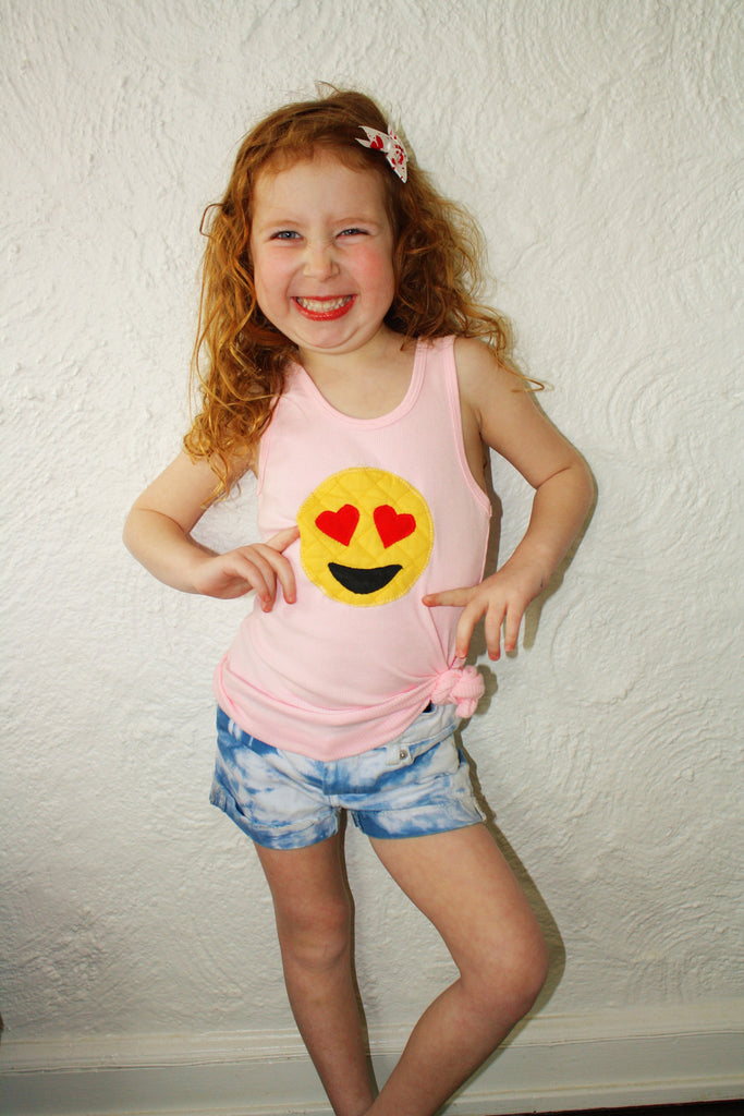 Happy Love Emoji Tank