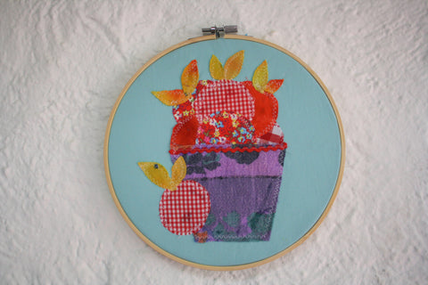 Applique Fruit Basket