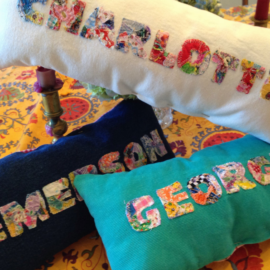 Custom Name Pillows