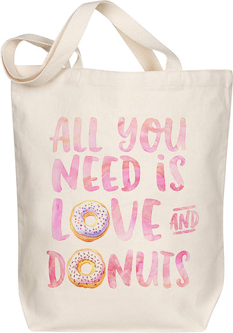 Love and Donuts Tote