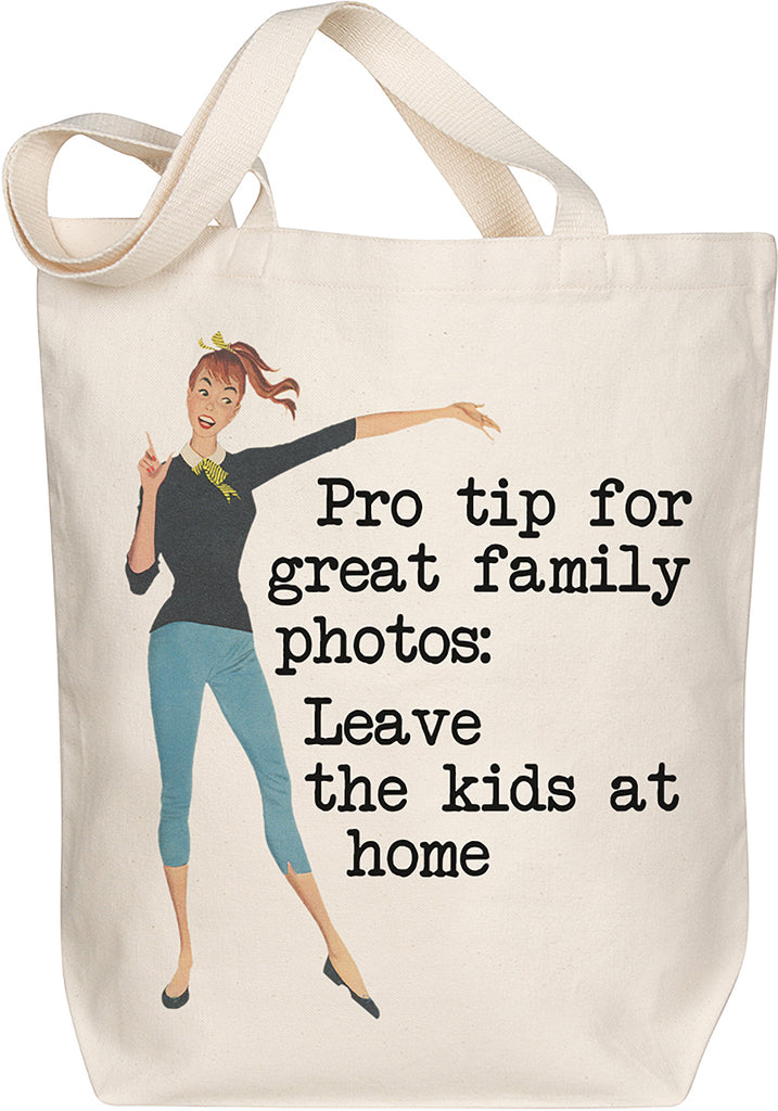 Family Photo Tote