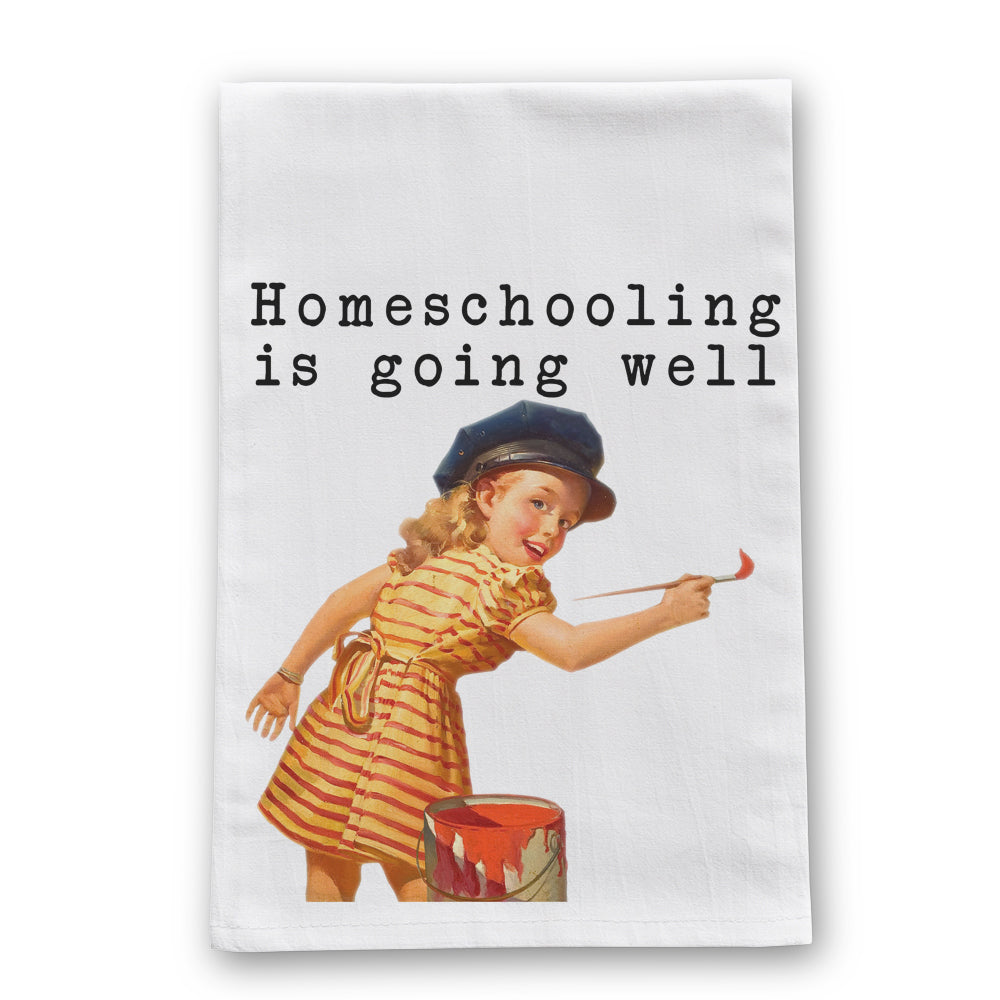 Homeschooling Tea Towel