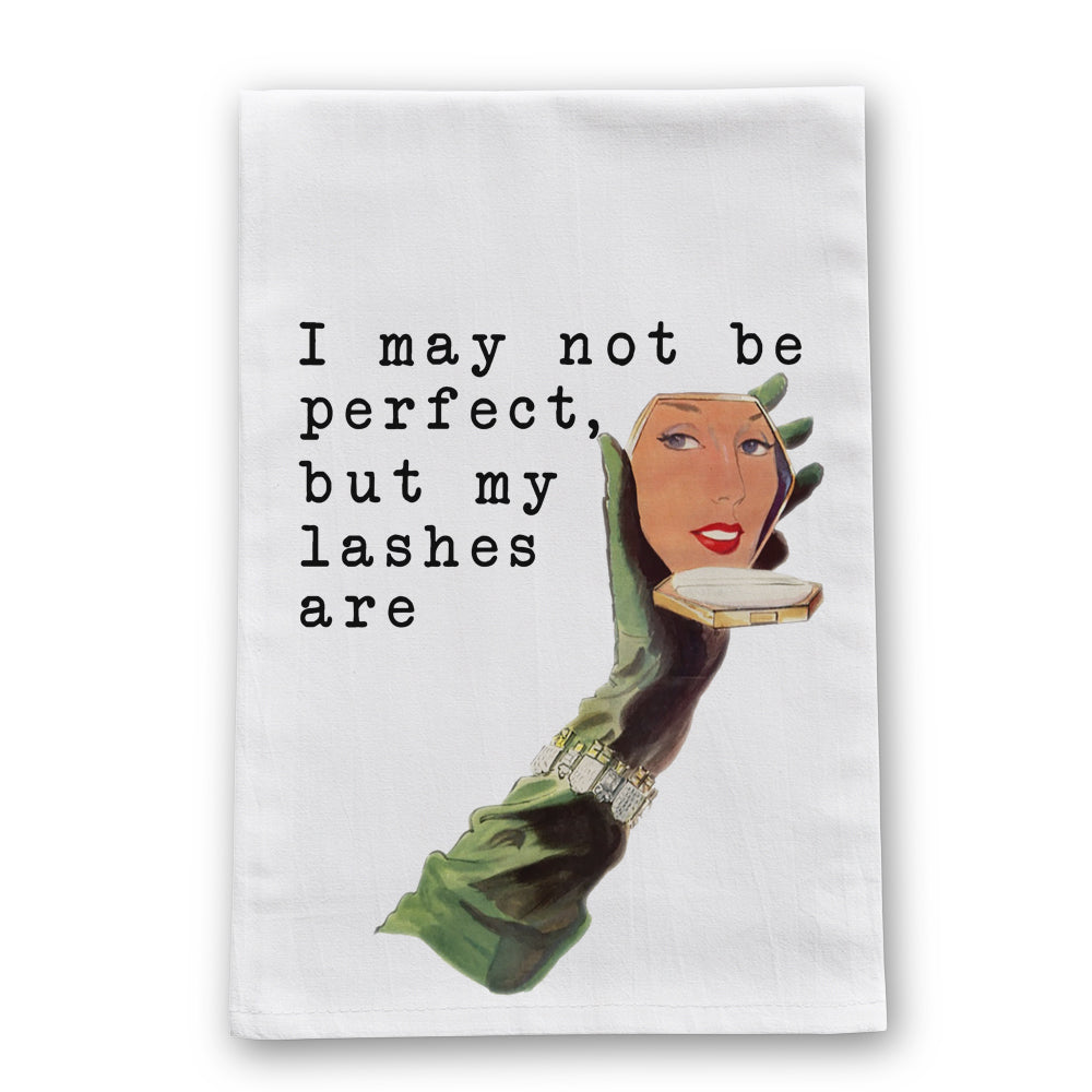 Lashes Tea Towel