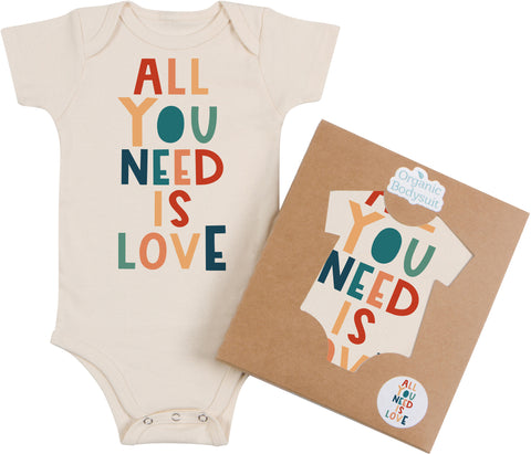 All You Need is Love Bodysuit & Tee
