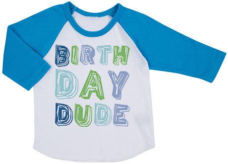 Birthday Dude Raglan