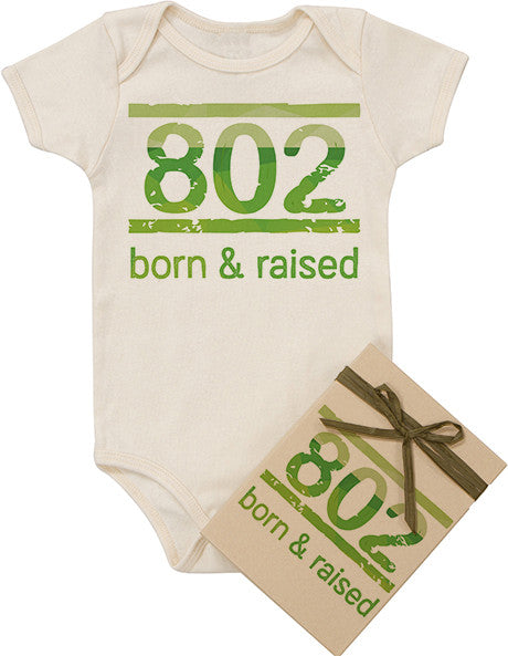 Born and Raised Bodysuit - Green