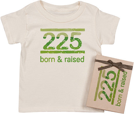Born and Raised Tee- Green