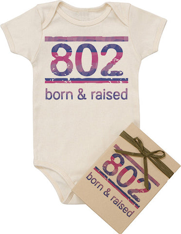 Born and Raised Bodysuit - Pink