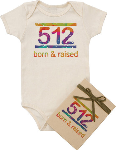 Born and Raised Bodysuit - Rainbow