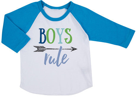 Boys Rule Raglan