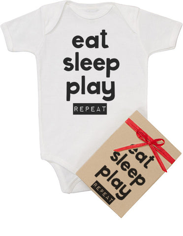 Eat Sleep Play Repeat Bodysuit