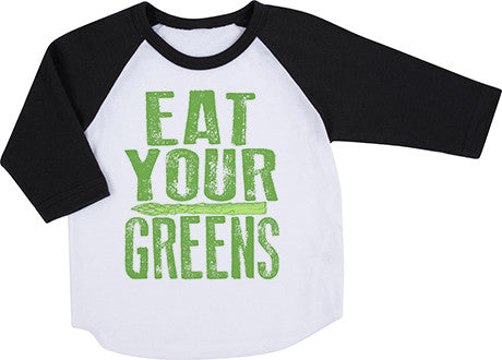 Eat Your Greens Raglan