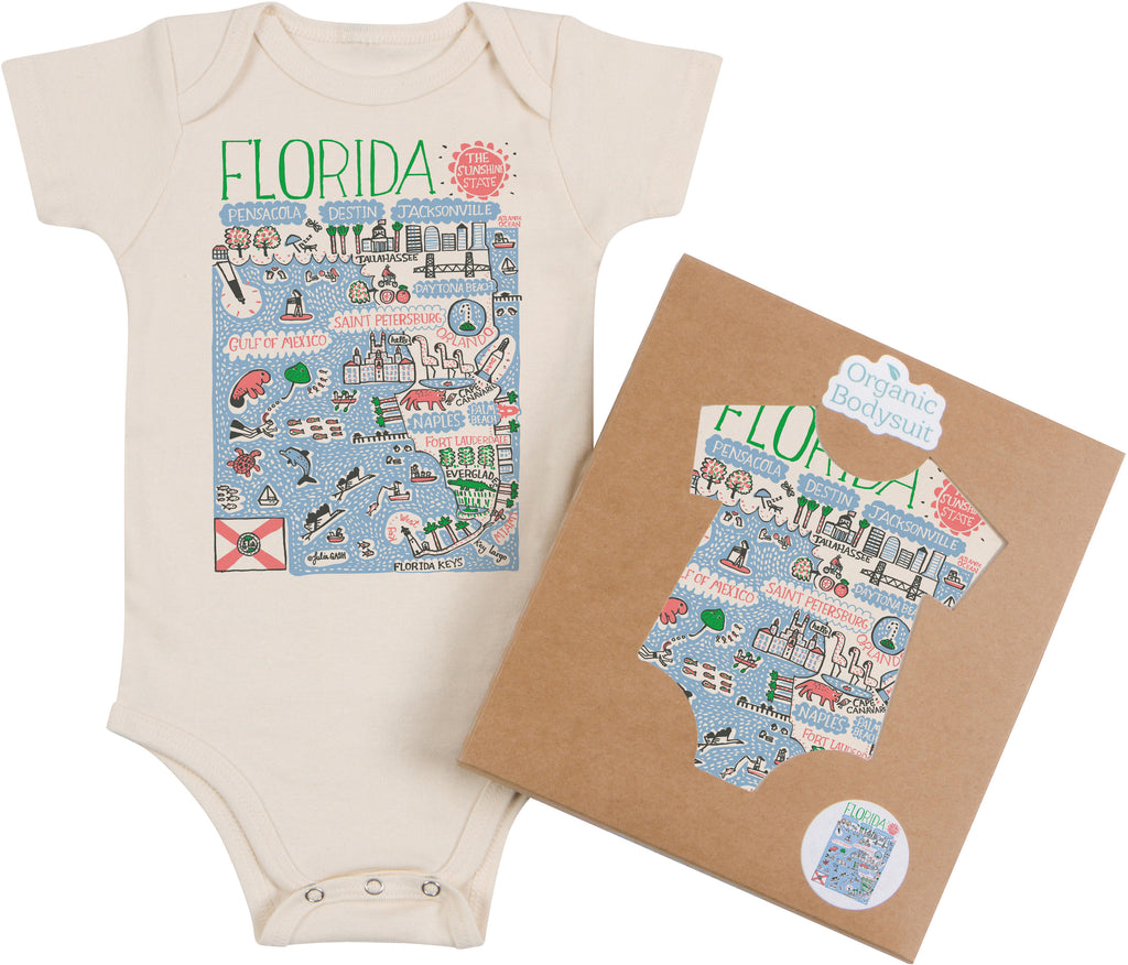 Florida Boutique Map Art