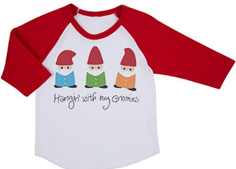 Hangin With My Gnomies Raglan