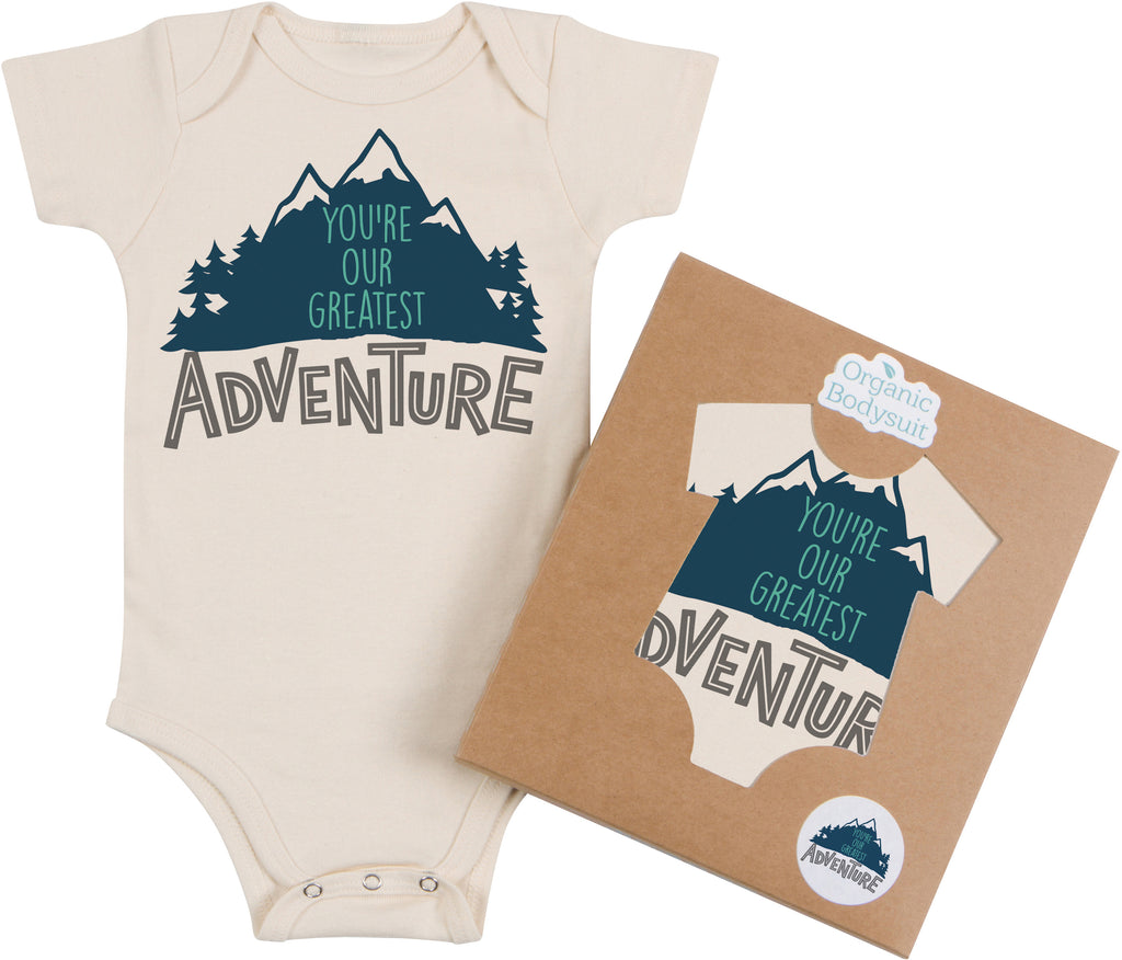 Greatest Adventure Bodysuit & Tee