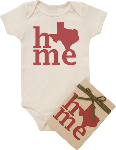 "State ""HOME"" Red Bodysuit"