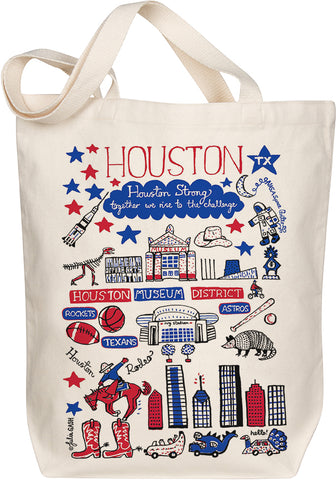 Houston Boutique Map Art Tote